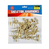 Skeleton Warrior Action Figures - Pack of 20 1 X 2.5 Inches - Cool and Fun Skeleton Army Miniatures Toys - for Kids Great Party Favors, Bag Stuffers, Fun, Toy, Gift, Prize - by Kidsco