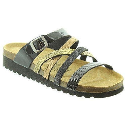 Jake Ladies 274244 Sandals in Black ixAHr