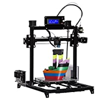 Prusa i3 3d Printer DIY Kit RepRap Type Aluminium Structure with Large 3D Printing Size High Accuracy and stability Heated Bed LCD Display