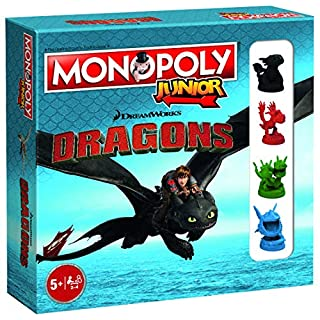 Dragons How to Train The Junior Board Game Compatible with Junior Monopoly