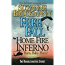 Free Fall & Home Fire Inferno (Burn, Baby, Burn): Two Troubleshooters Short Stories (Troubleshooters Shorts and Novellas) (Volume 3)