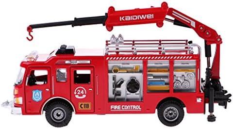 1:50スケール 消防車モデル トラックモデル 子供 遊ぶゲーム おもちゃ ギフト