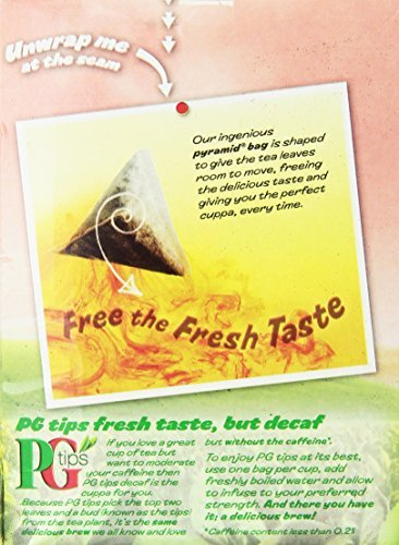 PG Tips Decaf 70 Ct Tea Bags - 4 Pack by PG Tips (Image #1)