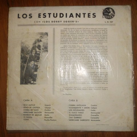 ... L. de Hernandez, D. P. Prado, H. Ruiz, Los Bobby Soxers, Jaime E. Lopez - Los Estudiantes Con Los Bobby Soxers (Diana // Vinyl) - Amazon.com Music
