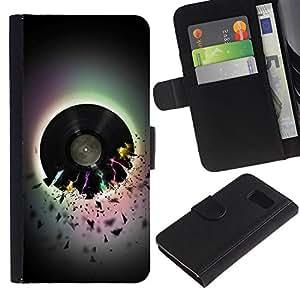 All Phone Most Case / Oferta Especial Cáscara Funda de cuero Monedero Cubierta de proteccion Caso / Wallet Case for Sony Xperia Z3 Compact // Vinyl Music
