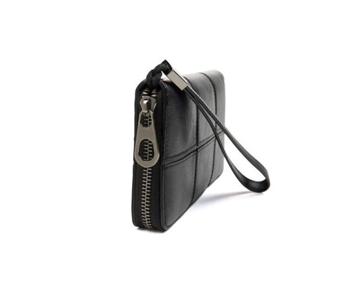 cm Stealth Mode Block Black Size, Color Youth Business Fashion Multi-Card Multi-Function Large Capacity Carrying Clutch Kalmar RFID Travel Wallet 19.7 2 10.5 Suitable for Mens Long Section