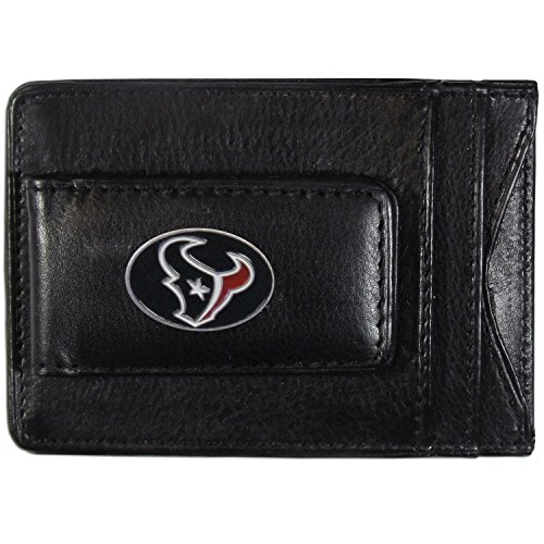 NFL Houston Texans Leather Money Clip (Houston Texans Holder)