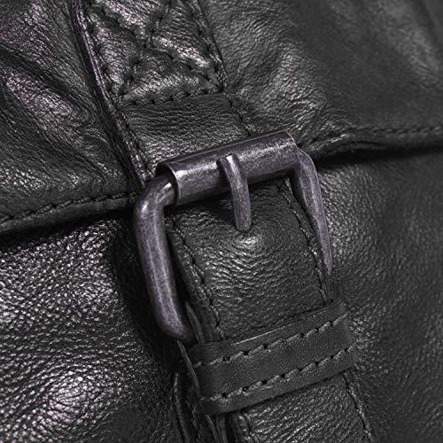 Tracolla Pelle Nero Borsa A Brand Cm Cato The 20 Chesterfield qY6AX