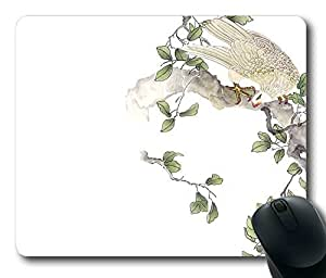 Chinoiserie Rectangle Mouse Pad by LZHCASE