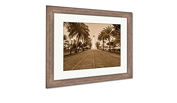 Amazon.com: Ashley Framed Prints Monument to The Discoverers ...