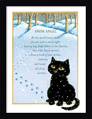 Framed Canvas Wall Art Print | Home Wall Decor Canvas Art | Snow Angel by Laura Seeley | Modern Decor | Stretched Canvas Prints