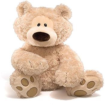 "Gund Philbin 18"" Teddy Bear Stuffed Animal, Light Brown"