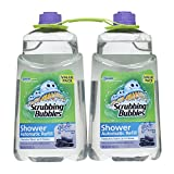 Scrubbing Bubbles Automatic Shower Cleaner Refill, Glade Refreshing Spa, 2 Pack, 34 fl oz