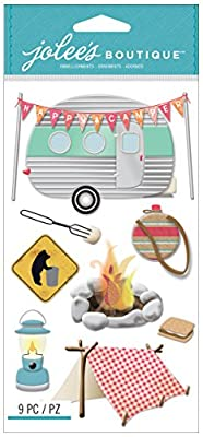 Jolee's Boutique Dimensional Stickers, Camping
