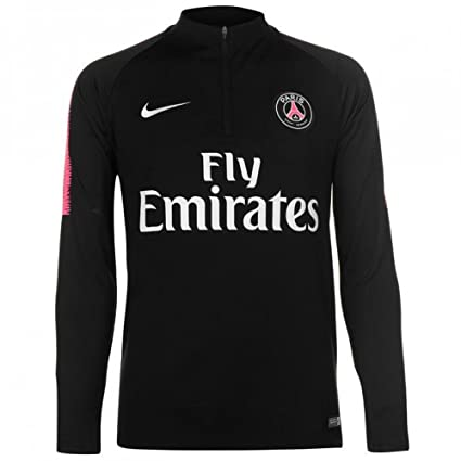 Nike T Shirt Manches Longues Paris Saint Germain Dry Squad