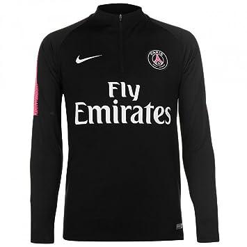 c4b38789e Nike Paris Saint-Germain Dry Squad Drill Children's Long-Sleeved T-Shirt,