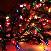 Renkli Yılbaşı Çam Ağacı Süsleme Işığı 10 metre Led Lambaları