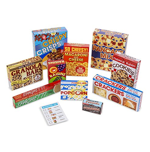 Melissa & Doug Grocery Boxes for Pretend Kitchens and Shopping (11 Piece)