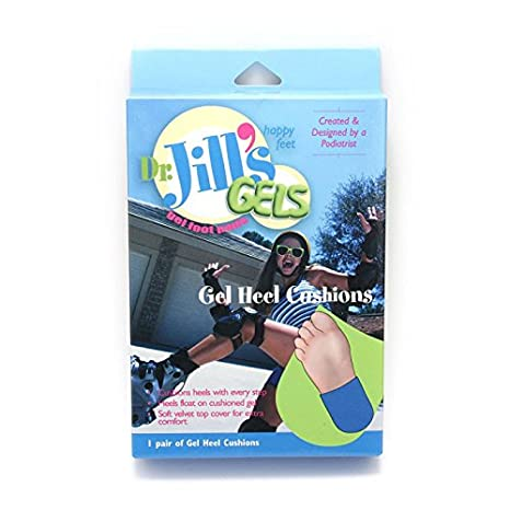 Amazon.com: Dr. Jills Gel Heel Cushions for Men, 1 Pair/Box ...