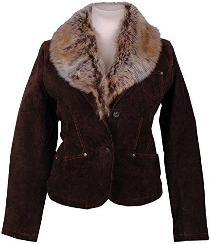HIS Damen Leder-Jacke , Model: , Farbe: dunkel-braun, Größe: M/, --- NEU ---, UPE: 229 Euro