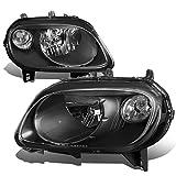 hhr headlight assembly - For 06-11 Chevy HHR Black Housing Clear Corner Headlight/Lamps - Pair