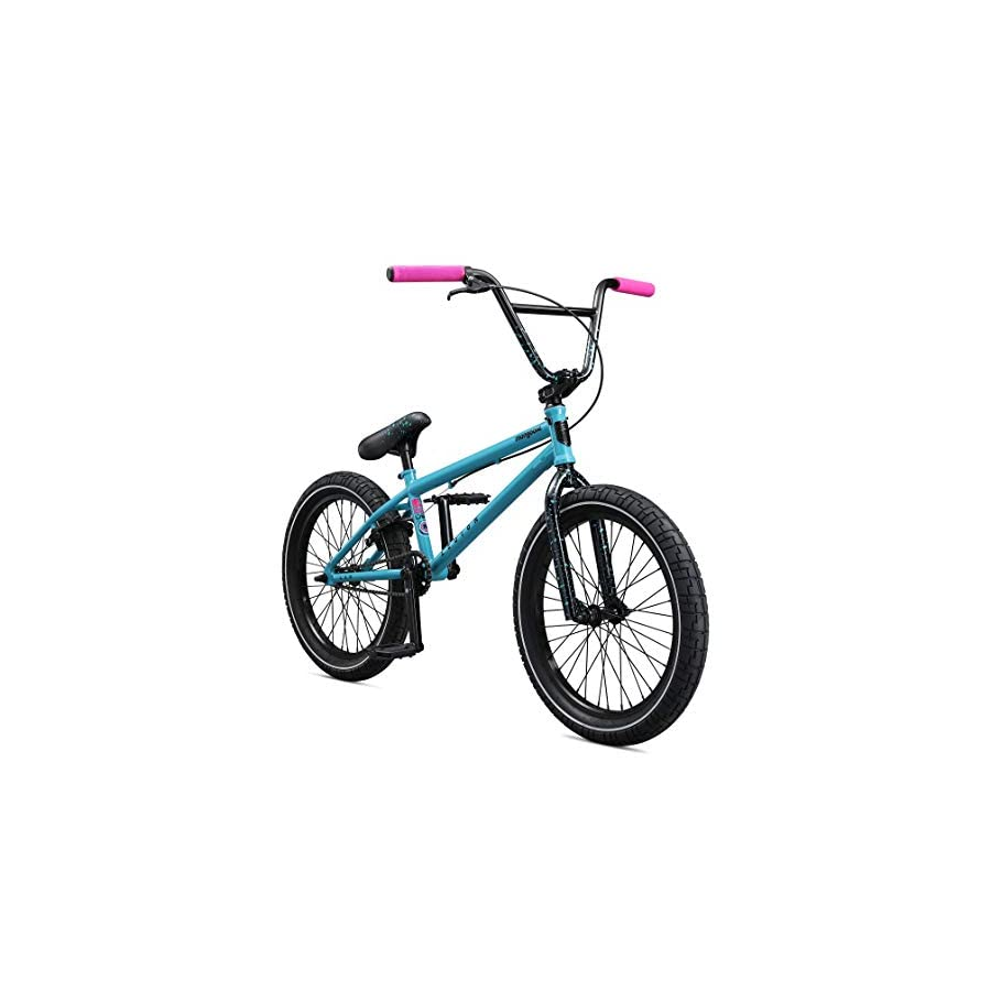 "Mongoose Legion L60 20"" Freestyle BMX Bike, Blue"