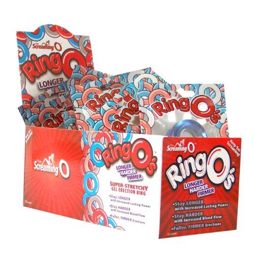 Screaming O RingO's - Display of 18