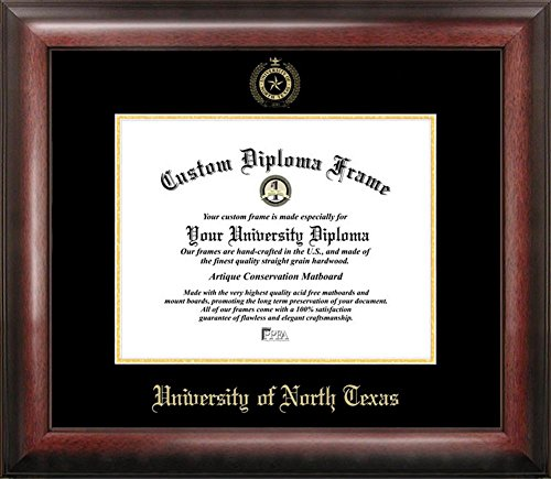 University of North Texas Home Office Diploma Picture Frame by Landmark Publishing
