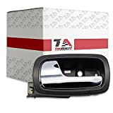 gm door handle interior - T1A 2005-2010 Chevy Cobalt Interior Door Handle Replacement, Fits Inside Front Left Driver's Side, Also Fits 2007-2010 Pontiac G5 and Pursuit, Textured Black With Chrome, T1A-22722755