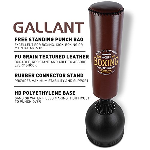 Gallant-55ft-Free-Standing-Boxing-Punch-Bag-Stand-Excellent-Quality-Heavy-Duty-Punch-BagKick-BoxingMartial-AtsMMA-Dummy-Equipment