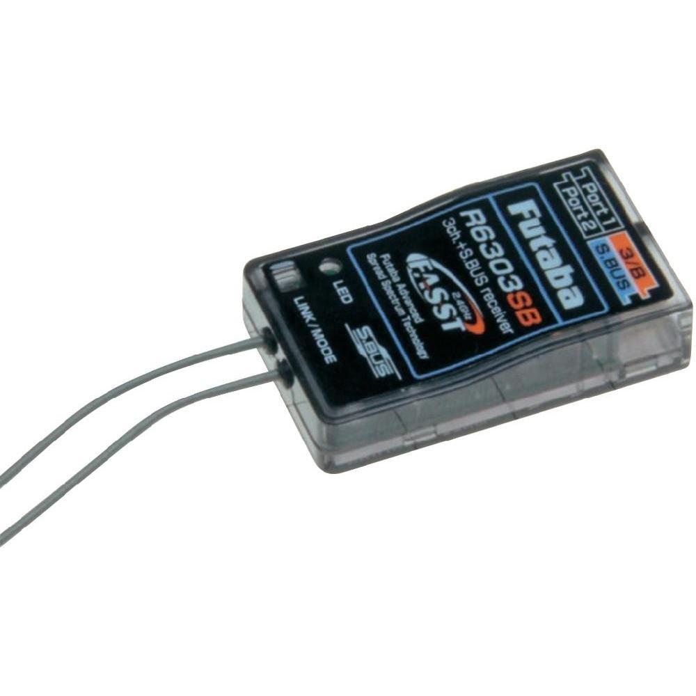 FUTABA F1014 schwarz Empfänger Empfänger Empfänger Radio – Empfänger Radio (22,5 mm, 37,4 mm, 9,3 mm, 7,2 g) f69a70