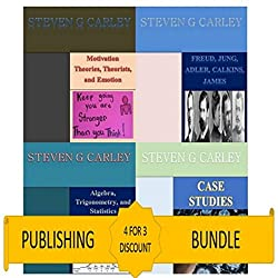 Kindle Publishing Bundle: Case Studies + Algebra, Trigonometry, and Statistics + Freud, Jung, Adler, Calkins, James + Motivation Theories, Theorists, and Emotion