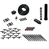 Drip Irrigation Kit for Container Gardening Standard SIze - Water 10 Plants
