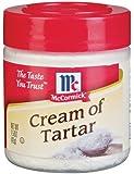 McCormick CREAM OF TARTAR 1.5oz (2 Pack)