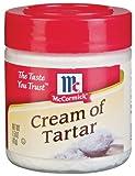 McCormick CREAM OF TARTAR 1.5oz (4 Pack)