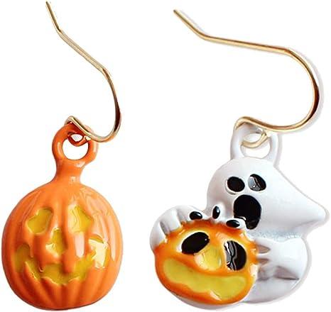 Vi.yo Halloween Jewellery Pendientes de araña Calabaza de ...