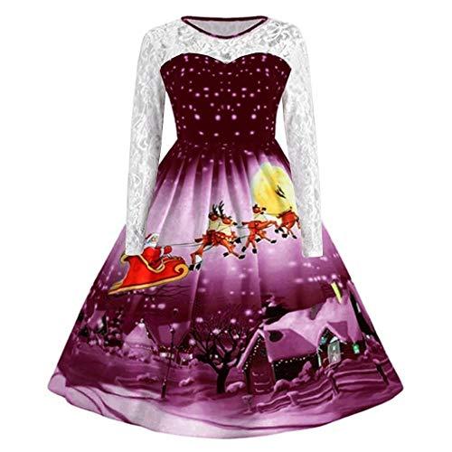 HTDBKDBK Dress for Women Christmas Dress Women Dressing Gown Men Bandage Dress Christmas Decoration for ()