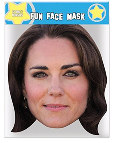 Duchess of Cambridge (Kate Middleton) - Celebrity Face Mask (Celebrity Face Masks)