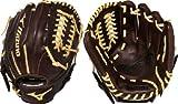 Mizuno GFN1175B1 Franchise Right Handed Throw Baseball Fielders Mitt, Coffee/Cork, 11.75-Inch