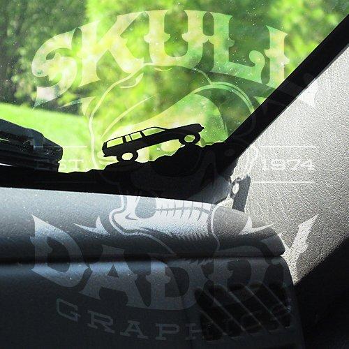 97 01 Jeep Cherokee Xj Corner Climbers Windsheild Stickers Decals Buy Online In Uae Skull