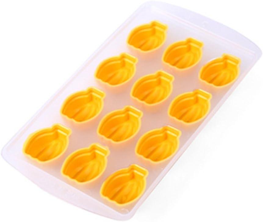gel/ée cr/ème glac/ée Accessoire de cuisine cr/éatif S banane Moule en silicone en forme de c/œur Pour gla/çons GerTong