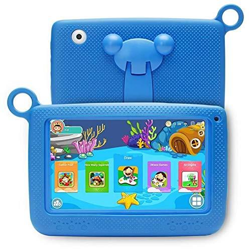 Auplew 7-Zoll-Kindertablett Quad Core HD Display Tablet mit Silikonhülle Kids Edition Tablet