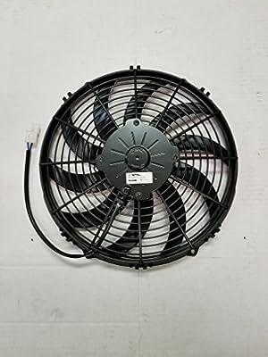 SPAL va10-bp10/c-61 a 24 V ventilador de refrigeración de ...