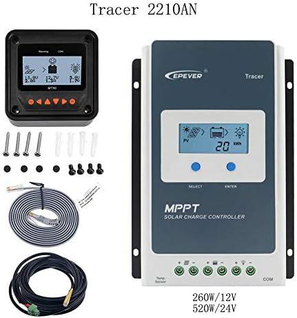 Epever Solar-regelaar/laadregelaar Tracer serie A mppt 100 V PV ingang, 20 A