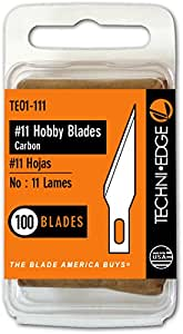 Techni Edge TE01-111 #11 Hobby Blades 100 Pack