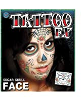 Assorted Styles of Face Tattoos - Many Designs To Choose From
