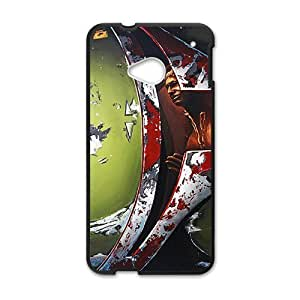 DAZHAHUI Bloody horn special man Cell Phone Case for HTC One M7