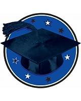 Congrats Grad White Graduation Cutout Party Accessory