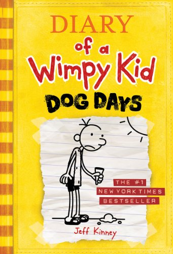 Book cover for Diary of a Wimpy Kid: Dog Days