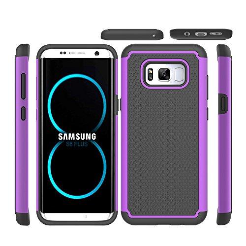 Galaxy S8 Plus Case, Beimu Premium Bumper Slim 2in1 PC+Silicon Shockproof Hybrid...